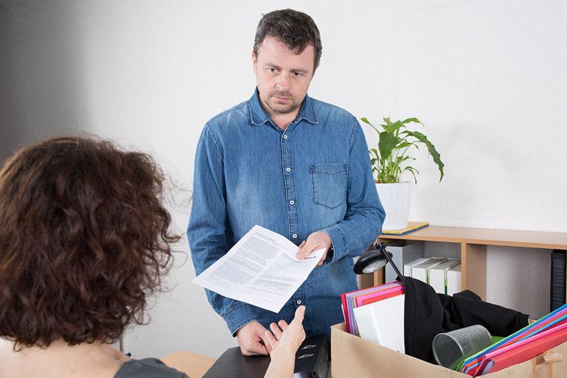 Порядок увольнения работника за невыход на работу